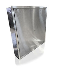"""Stainless Steel Perforated Ceiling Diffuser (8"""" Round Supply Collar)"""