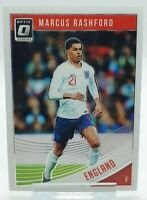 18/19 Marcus Rashford Panini Donruss Optic Soccer Card