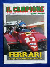 Ferrari Campione del Mondo Costruttori F1 Pironi Andretti - Poster Prospekt 1982