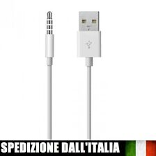 Cavo usb caricabatterie sincronizza per ipod shuffle 3g 4g 5g sync Nuovo