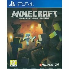 PLAYSTATION 4 PS4 GAME MINECRAFT BRAND NEW SEALED asia in english