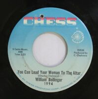 Hear! Northern Soul 45 William Bollinger - You Can Lead Ayour Woman To The Alter
