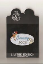 Hard 2 Find DisneyShopping - Calendar Series LE500 January 2008  Bambi Jumbo Pin