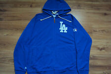 LOS ANGELES DODGERS NEW MLB MAJESTIC AUTHENTIC CLUBHOUSE FULL ZIP FLEECE JACKET