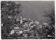 0115 SVIZZERA SCHWEIZ SUISSE TI GERRA - LAGO MAGGIORE Cartolina FOT. viagg. 1957