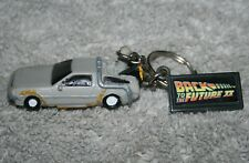 Vintage - Back To The Future 2 - Delorean Keychain - Excellent! RARE!