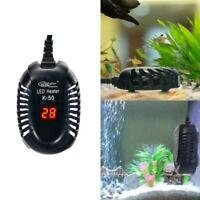 25-100W LED Aquarium Digital Heizung Aquarium Tauch Thermostat einstellbare E9L6