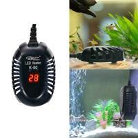 25-100W LED Aquarium Digital Heizung Aquarium Tauch Thermostat einstellbare E9L6