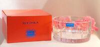 New Rogaska Lead Crystal Wine Bottle Coaster Madison Avenue Champagne Holder