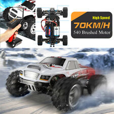 WLtoys 2.4G 75KM/H Off-Road Car High Speed 4WD Remote Control 1:18 RC Cars Buggy