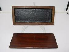 EARLY 20th or 19th CENTURY ANTIQUE HANDCRAFTED WOODEN DOVETAIL PEN or PENCIL BOX