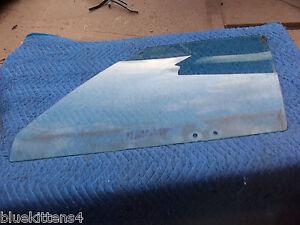 1987 CHEVY CAPRICE ESTATE WAGON LEFT FRONT DOOR WINDOW GLASS USED OEM ORIG GM