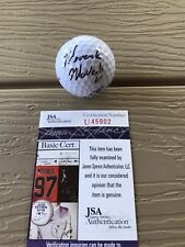 MAVERICK MCNEALY Signed Autographed Golf Ball Ben Hogan Stanford PGA JSA COA 2