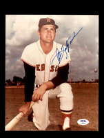 Carl Yastrzemski PSA DNA Coa Signed 8x10 Red Sox Photo Autograph