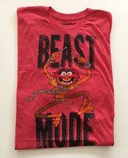 NEW Adult Graphic Print Muppets Animal T-shirt Beast Mode Disney Size 2XL