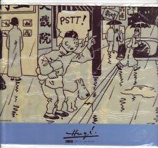 Tintin lotus   Herge tapis de souris 2007