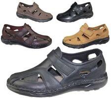 Sandalias de hombre en color principal marrón