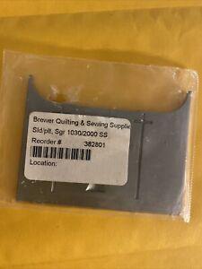SLIDE PLATE #382801 fits SINGER 900, 925, 1030, 2000, 2010
