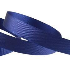 23 or 46 Metres of Grosgrain Ribbon in 6 10 15 or 25mm Widths #014 Navy 15mm 23 Metres