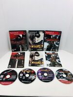 Devil May Cry 1 2 3 Trilogy Playstation 2 PS2 Lot Bundle COMPLETE