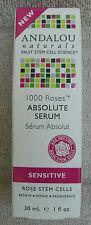 ANDALOU 1000 Roses ABSOLUTE SERUM For Sensitive Skin ~ 1 fl.oz. ~ NEW