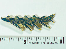 Blue Angel Echelon 4 Formation Military Jet Airplane Pin , (**)*