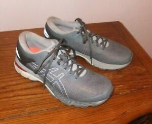 Asics Mens Gel Kayano 25 1012A026 gray Athletic Running Shoes Lace Up Sz US 9.5