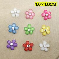 Colorful DIY Crafts For Phone/wedding Resin Flowers Flatback Scrapbooking