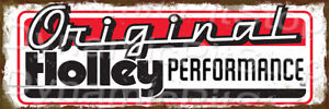 60x20cm Holley Original Rustic Tin Sign or Decal, Man Cave, Bar, Garage, Retro
