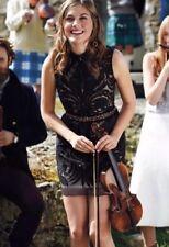 Anthropologie BHLDN  Black Overture Tulle Sheath Dress Yoana Baraschi Size 8