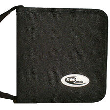 48 manica CD DVD BLU RAY DISC Custodia Supporto STORAGE BORSA WALLET Nylon-NEO