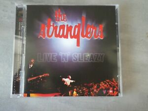 The Stranglers ‎– Live 'n' Sleazy double cd album punk new wave kbd