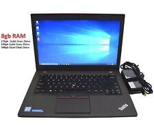 Lenovo Thinkpad X250 Core i5-5300U 2.30GHz 8GB Ram  SSD Windows 10 Laptop