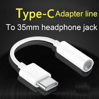 HOT Universal USB Type C to 3.5mm AUX Headphone Adapter Jack For Android