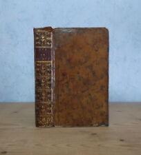 RELIGION VATICAN PAPAUTE VIE DU PAPE CLEMENT XIV GANGANELLI (CARACCIOLI 1775).