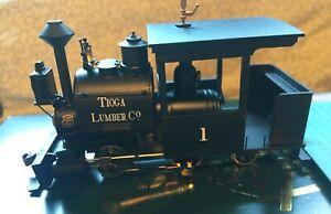 On30 Bachmann Spectrum 0-4-2 Porter locomotive w/extra cab needs work