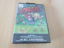 Zombies Sega Mega Drive Game