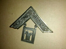 More details for masonic piece of h/m silver regalia r.c. tooby county gate 7849  & lapel badge