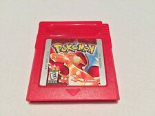 Pokemon: Red Version (Nintendo Game Boy) Authentic GB Game Cartridge Excellent!