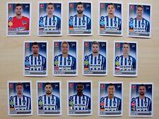alle 14 Spielerbilder/Sticker Hertha BSC Topps Bundesliga Saison 2017/18