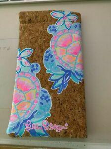NEW! Lilly Pulitzer Eyeglass Case Glitter Rainforest Retreat Print