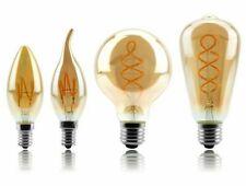 Retro LED Spiral Filament Light Bulb 4W Vintage Edison LED Lamp Home Docoration