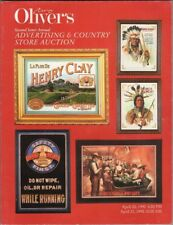 Oliver Advertising Country Store Auction catalog, April 19-20, 1990