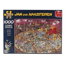 Jan van Haasteren – THE CIRCUS- 1000 piece Jigsaw Puzzle NEW jumbo games