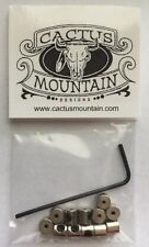 12 New PIN KEEPERS Lapel Biker Locking Backs Savers with Allen Wrench