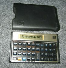 Hewlett Packard HP 12C Financial Calculator w/Case - Tested & in Good Condition