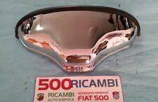 FIAT 500 F/L/R FANALINO POSTERIORE FANALE LUCE TARGA IN ALLUMINIO CROMATO NUOVO