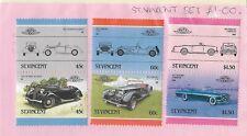 SET OF CARS MINT ST. VINCENT STAMPS