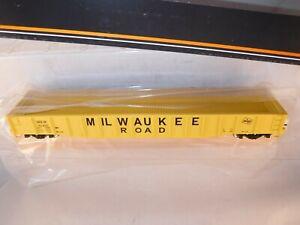 MTH HO Milwaukee Road MILW 53-6 70-Ton Mill Gon Yellow #92492