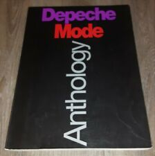 DEPECHE MODE - ANTHOLOGY - PIANO VOCAL GUITAR - SHEET MUSIC SONGBOOK -  PVG BOOK